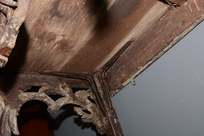 Lot 637 - 18th Century and later console table