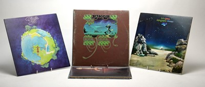Lot 875 - Yes and Rick Wakeman LPs