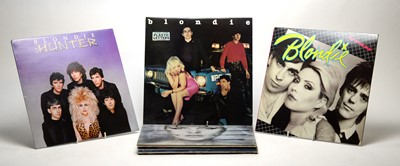 Lot 878 - Blondie and Kim Wilde LPs