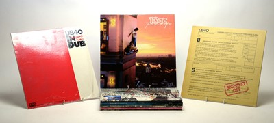 Lot 881 - Six 10cc LPs and five UB40 LPs