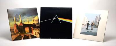 Lot 893 - 3 Pink Floyd LPs