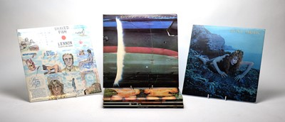 Lot 897 - Roxy Music, Wings, and Lenon LPs