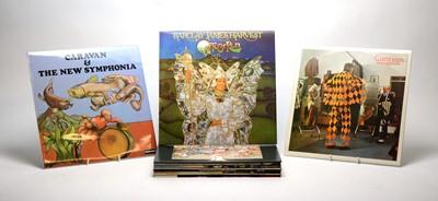 Lot 898 - Caravan and Barclay James Harvest LPs