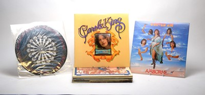 Lot 899 - Curved Air and Carole King LPs