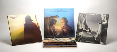 Lot 900 - Wishbone Ash and Moody Blues LPs