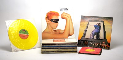 Lot 907 - 35 mixed LPs and singles