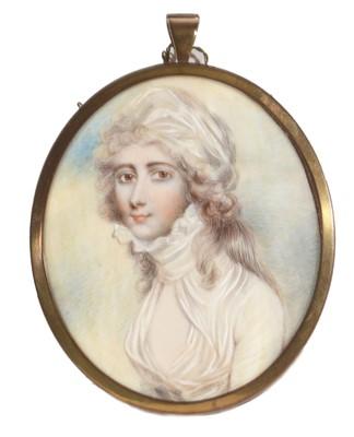 Lot 85 - Manner of Richard Cosway - Portrait miniature