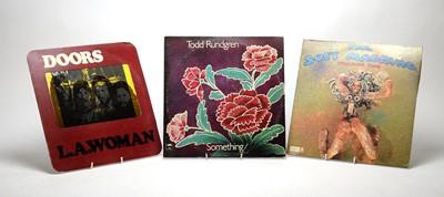 Lot 908 - Todd Rundgren, The Doors, and Soft Machine LPs