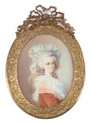 Lot 86 - * Harmois - Portrait miniature