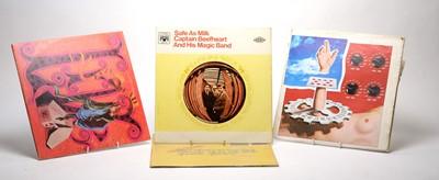 Lot 910 - Jerry Garcia, Grateful Dead, and Captain Beefheart LPs