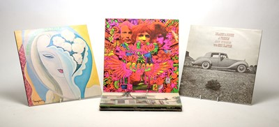Lot 912 - 9 Eric Clapton and associated LPs