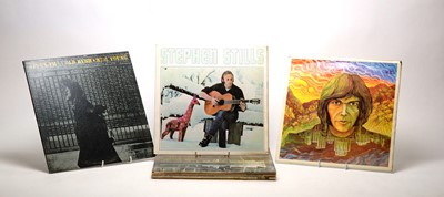 Lot 916 - Neil Young, Stephen Stills, and Beach boys LPs