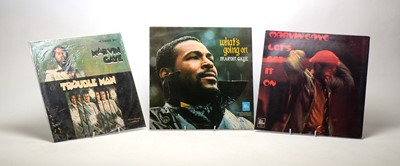 Lot 918 - 3 Marvin Gaye LPs