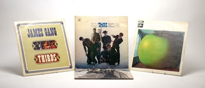 Lot 920 - The Byrds, James Gang, and Jeff Beck LPs