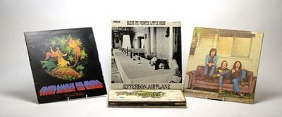 Lot 921 - Nine mixed LPs