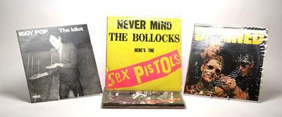 Lot 925 - 8 Punk LPs