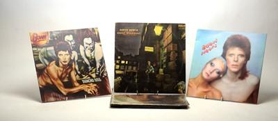 Lot 928 - 8 David Bowie LPs