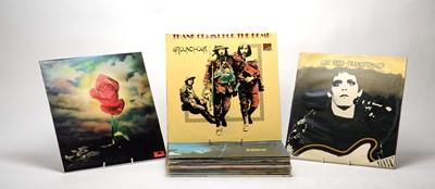 Lot 929 - 15 mixed rock LPs