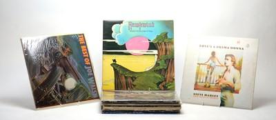 Lot 930 - 16 mixed rock LPs
