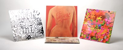 Lot 945 - 6 Eric Clapton and Cream LPs