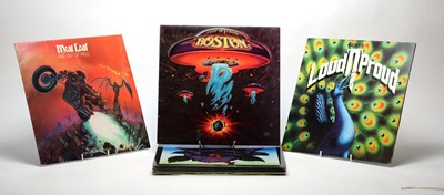Lot 948 - Thin Lizzy, Boston, Nazareth and Meat Loaf LPs