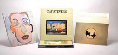 Lot 952 - Bob Dylan and Cat Stevens LPs