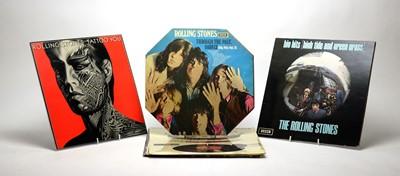 Lot 955 - 7 Rolling Stones LPs