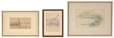 Lot 45 - Percival Fenimore and another - Watercolours