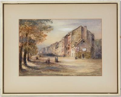 Lot 34 - Continental School, late 19th Century - Watercolour