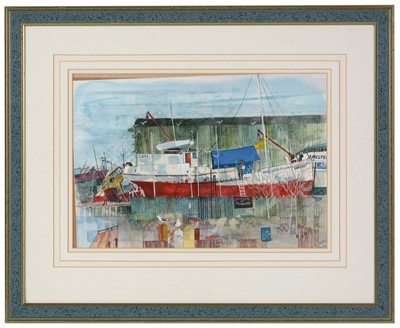 Lot 942 - Ray Evans - watercolour