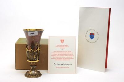 Lot 208 - Aurum silver Westminster Abbey goblet