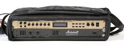 Lot 576 - A Roland GP-100 guitar pre-amp processor; and a Marshall Valvestate power amp.