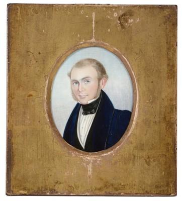 Lot 89 - B* Woodley - portrait miniature