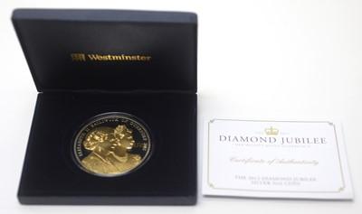 Lot 29 - 2012 Diamond Jubilee silver 5oz proof