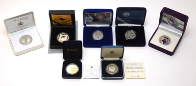 Lot 32 - Silver proof coinage