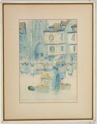 Lot 72 - Victor Noble Rainbird - watercolour