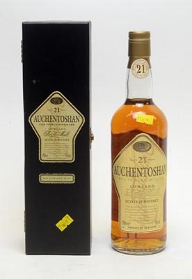 Lot 513 - Auchentoshan Aged 21 Years The Triple Distilled Single Malt Scotch Whisky