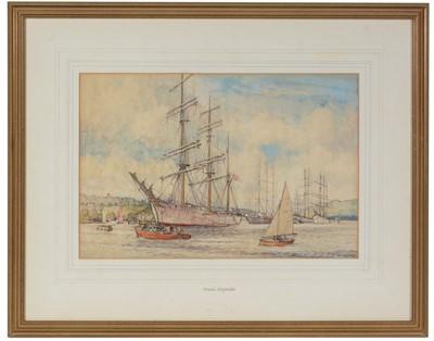 Lot 39 - Frank Shipside - watercolour