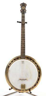 Lot 291 - John Grey Tenor Plectrum Banjo
