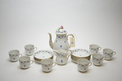 Lot 354 - Herend, Hungary: a coffee service.