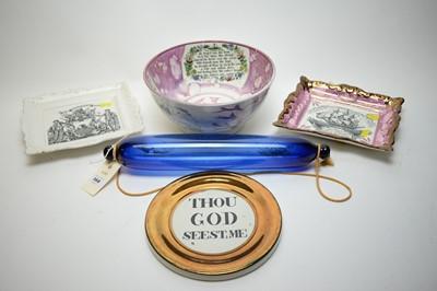 Lot 368 - Various ceramic items.