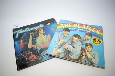 Lot 415 - The Beatles: An Illustrated Record; and The Concerts by Laurie Lewis; and others.