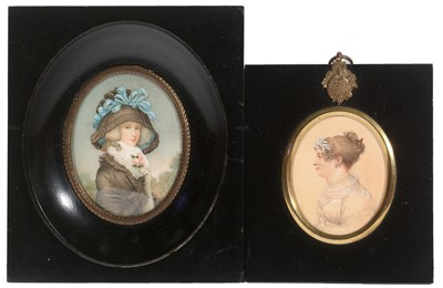 Lot 172 - A*R* Burt and Continental School, 19th Century - Miniatures
