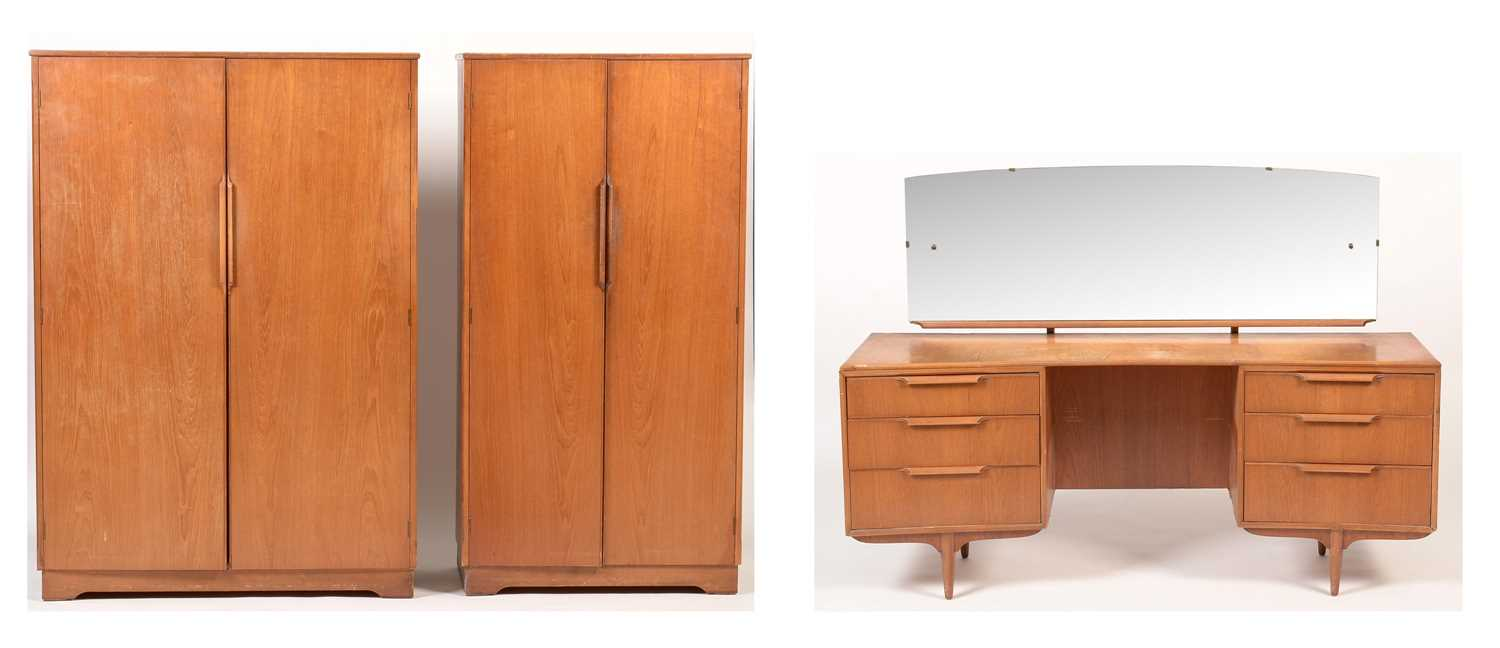 Lot 804 - Attributed to McIntosh of Kirkcaldy: a 1960's teak bedroom suite.