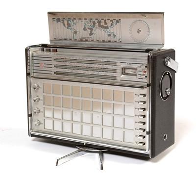 Lot 773 - A Philips FM-AM De Luxe portable World radio.