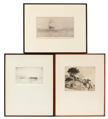 Lot 3 - Various Artists - etchings