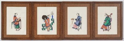 Lot 29 - Chinese School, late 19th / early 20th Century School - watercolour