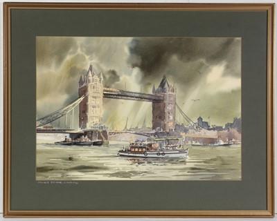 Lot 55 - Ronald Moore - watercolour