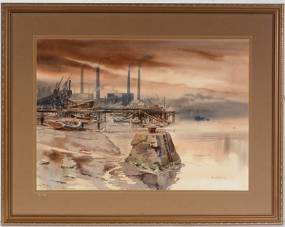 Lot 56 - Ronald Moore - watercolour