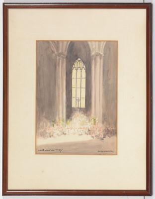 Lot 66 - Victor Nobel Rainbird - watercolour